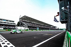 Porsche-Supercup Mexiko: Andlauer gelingt erster Sieg, Titelvergabe vertagt