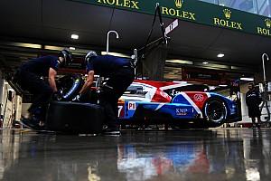 La carrera en Shanghai se detuvo debido a fuertes lluvias
