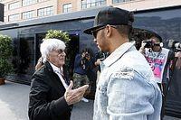 Ecclestone: Hamilton demora su renovación por espectáculo