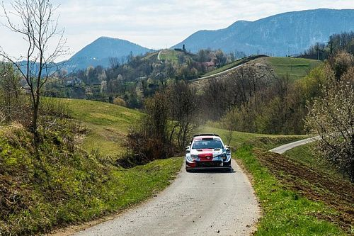 """Rovanpera llega líder al Rally de Croacia: """"No siento ninguna presión"""""""