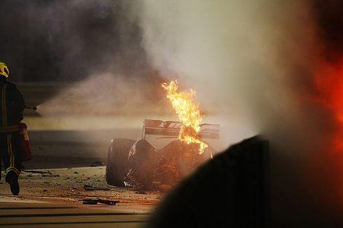 El informe completo del accidente de Romain Grosjean en Bahrein