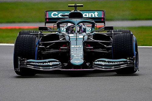 Vettel maakt eerste meters voor Aston Martin F1 tijdens filmdag