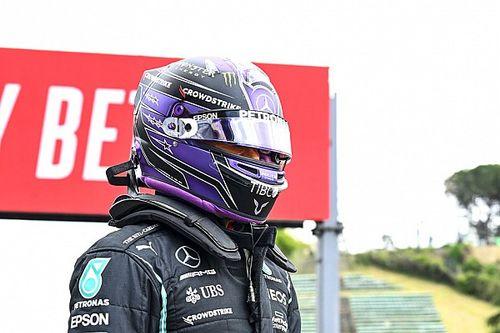 Wer letzte Nacht am besten geschlafen hat: Lewis Hamilton