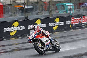 MotoGP Отчет о тренировке Довициозо показал лучшее время второй тренировки Гран При Франции