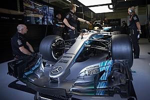 Formula 1 Special feature How big is a Formula 1 Mercedes car?