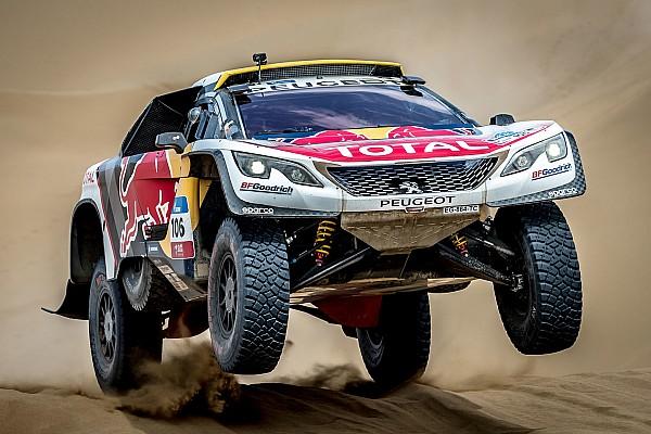 Dakar Actualités Le Dakar 2018 sera bien le dernier pour Peugeot