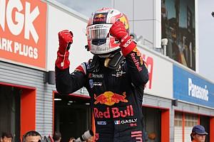 Super Formula Actualités Gasly, premier rookie à gagner en 2017