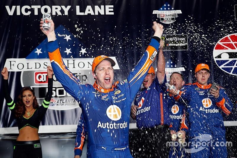 Brad Keselowski wins Atlanta after late-race drama