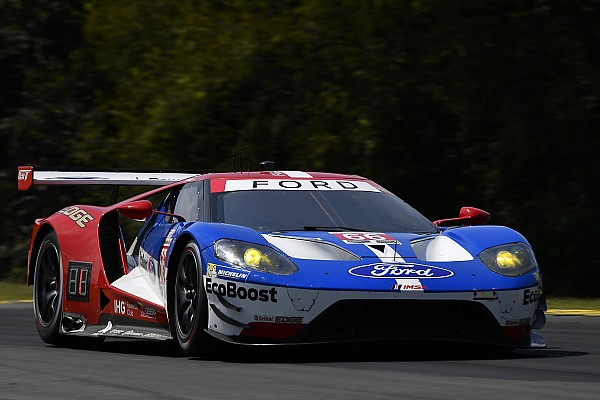 IMSA VIR IMSA: Hand's Ford GT beats BMWs to pole