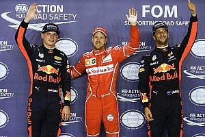 Formula 1 Hasil Grid start balapan GP Singapura 2017