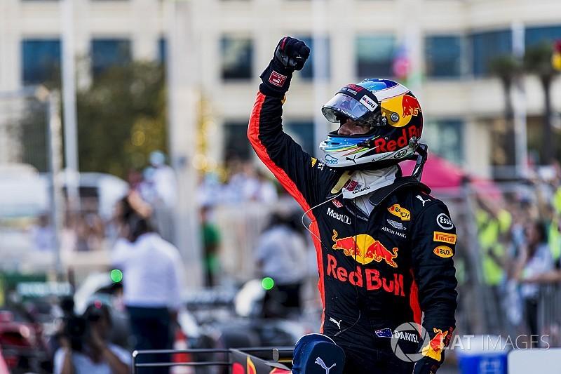 Análisis: ¿Cómo Ricciardo superó el caos en Bakú para alcanzar la victoria?