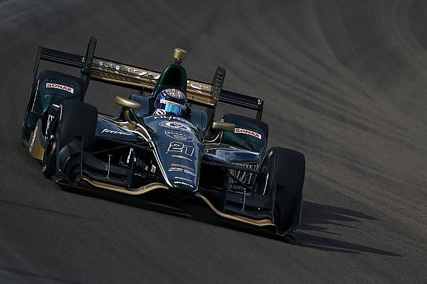 IndyCar Hildebrand breaks Phoenix track record, albeit unofficially