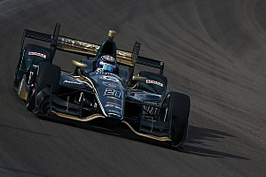 IndyCar Testing report Hildebrand breaks Phoenix track record, albeit unofficially