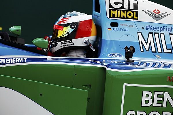 Формула 1 Онборд: Мік Шумахер на першому чемпіонському боліді свого батька