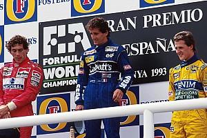 Fórmula 1 Galería GALERÍA: hace 25 años un podio unió a tres grandes de F1