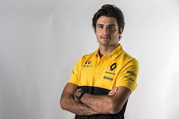 Sainz ante su debut en Renault: