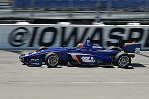 Indy Lights Gara Terza vittoria nelle ultime quattro gare per Leist in Iowa
