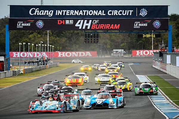 Asian Le Mans Second win of the season for Jackie Chan DC Racing