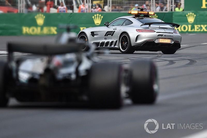 Уайтинг объяснил гонщикам назначение машины безопасности