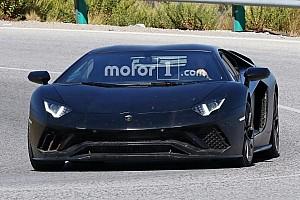 Automotive Breaking news Lamborghini Aventador Superveloce successor to carry SVJ suffix