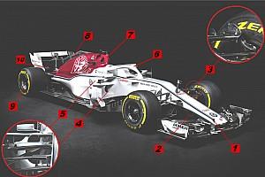 Технический анализ: 10 примечательных решений Sauber C37
