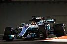 F1 Lo mejor del viernes en Abu Dhabi fue de Hamilton