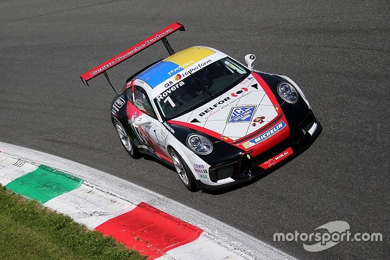 Carrera Cup Italia, Rovera-record a Monza:
