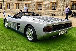 Auto Actualités Découvrez la seule Ferrari Testarossa Spider au monde!