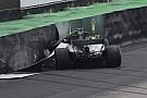 Bildergalerie: Der Formel-1-Crash von Lewis Hamilton in Brasilien