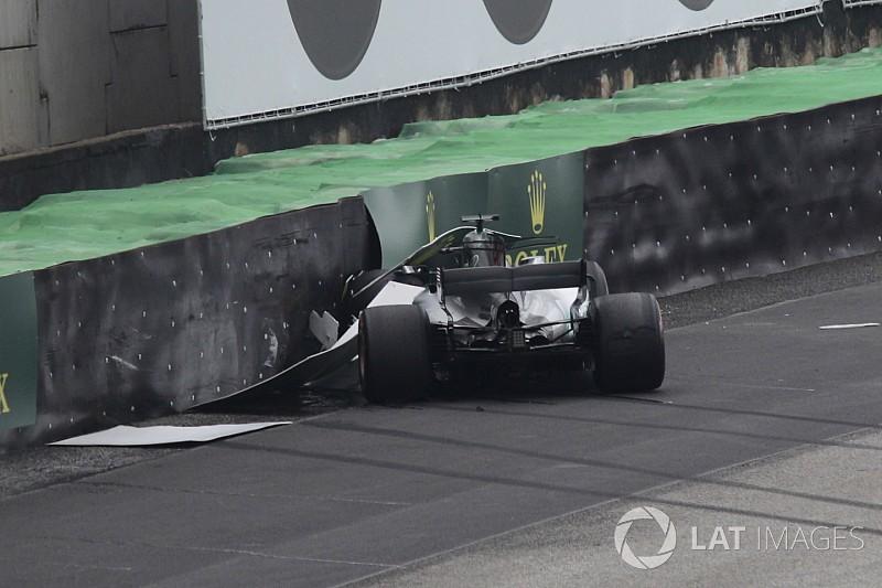 """Hamilton: """"Non sono abituato a certi incidenti..."""""""