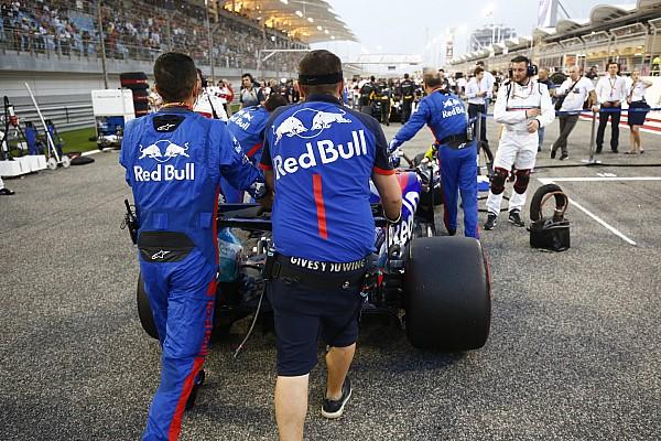 Perez e Hartley in disaccordo sull'errore nel giro di formazione in Bahrain