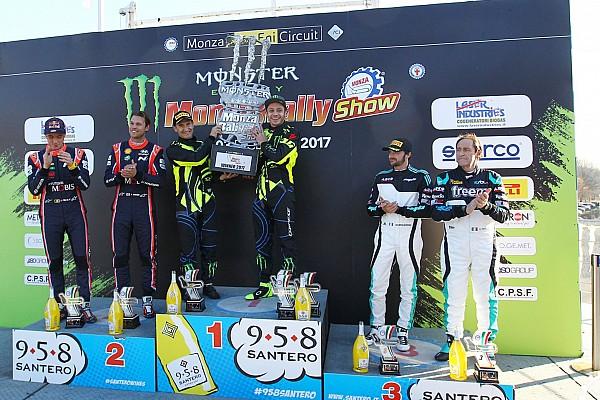 Otros rallies Crónica de Carrera Valentino Rossi remonta y conquista su sexto Monza Rally Show