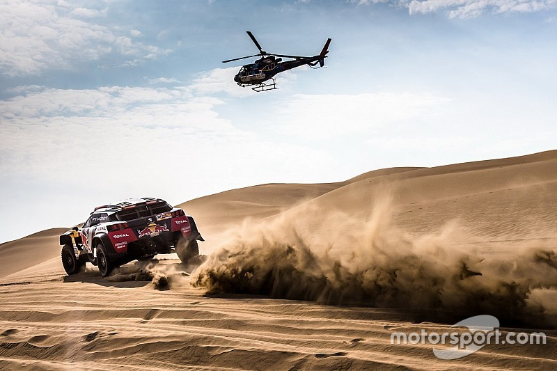Video: La etapa 3 del Rally Dakar