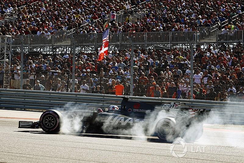 """Grosjean : """"Je pensais que le pneu allait exploser à chaque tour"""""""