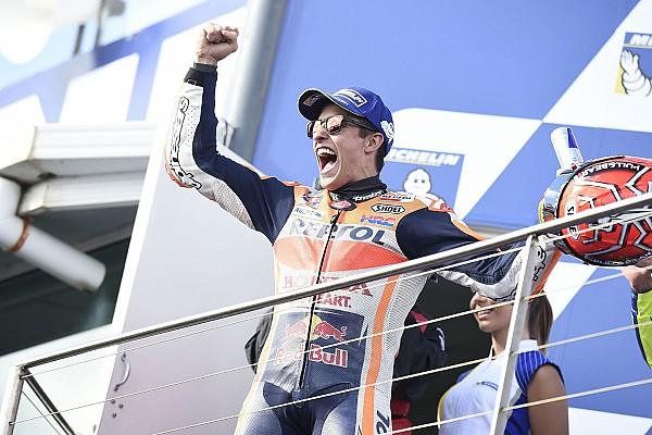 MotoGP Marquez: 33-point buffer makes me happier than win