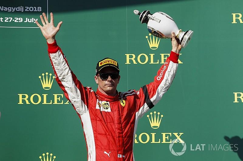 ライコネン、3位表彰台獲得も「あまり良いレースじゃなかった」と不満