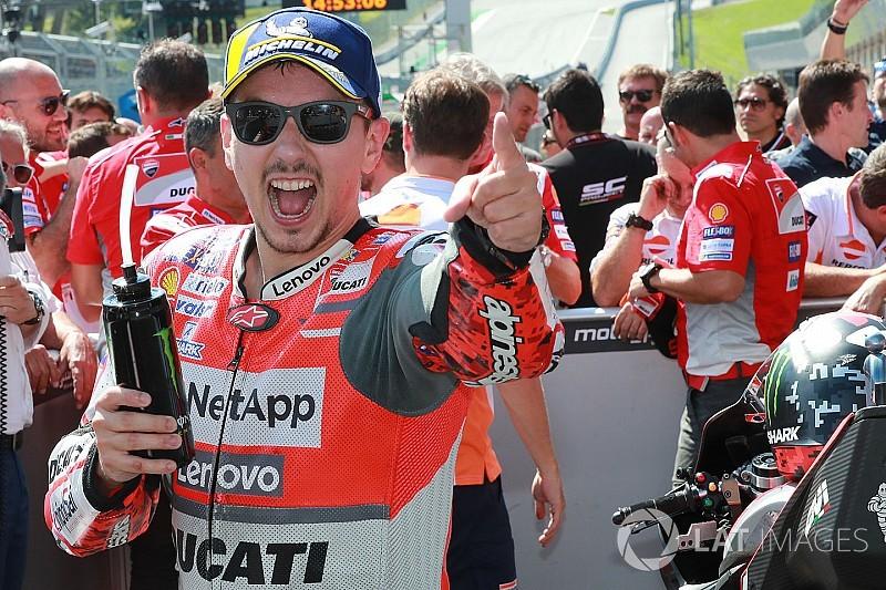 Lorenzo álomszerű csatát nyert Marquez ellen az Osztrák GP-n, Dovi harmadik