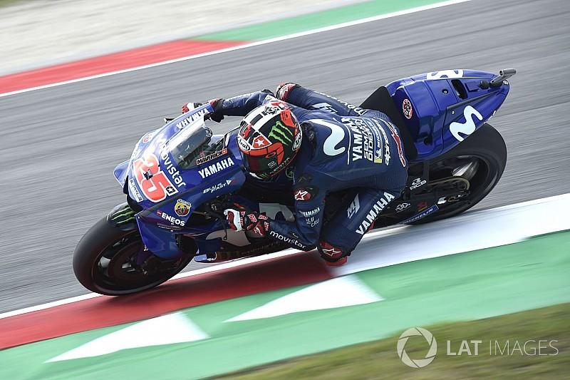Vinales penasaran dengan performa motor saat balapan
