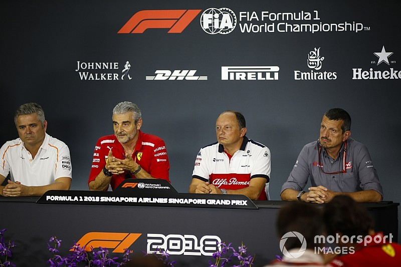 Singapore GP: Friday's press conference