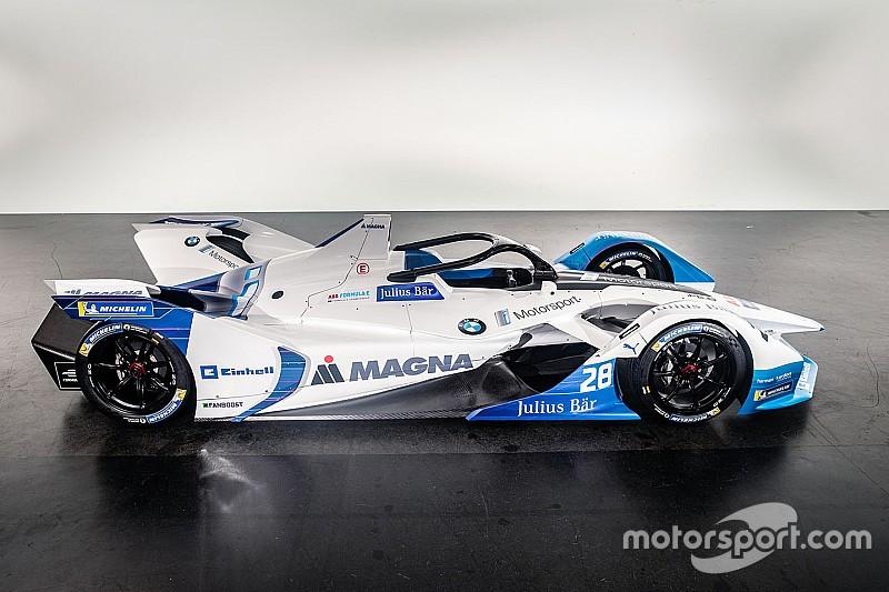 BMW apresenta seu primeiro carro de Fórmula E