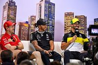 Tüm sürücülerin katılacağı F1 basın toplantısı, sanal ortamda yapılacak