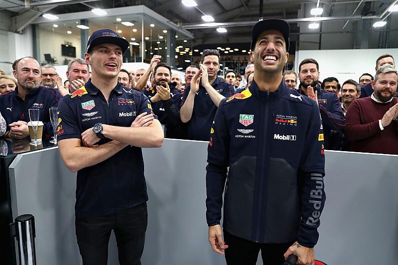 Photos - Ricciardo fait sa visite d'adieu chez Red Bull Racing