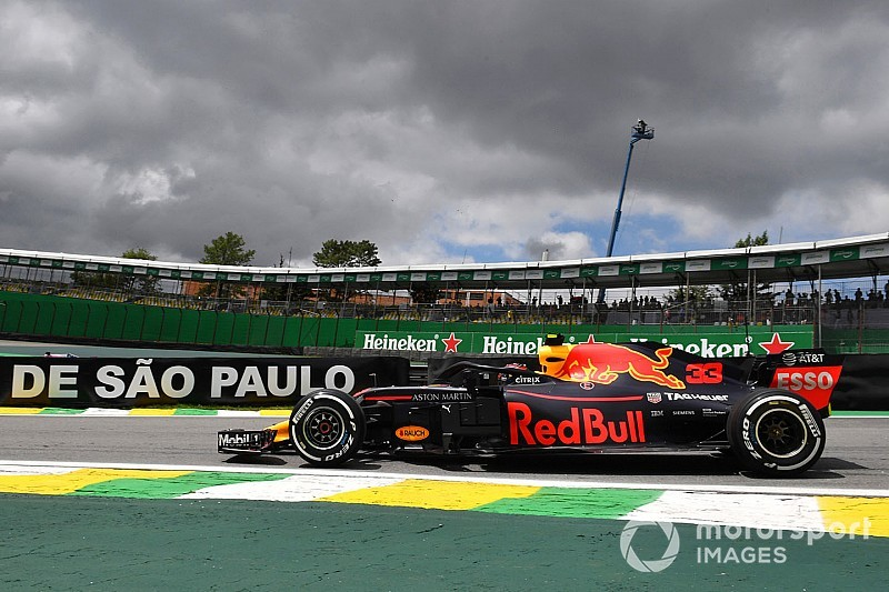 Verstappen domina primeiro treino livre do GP do Brasil