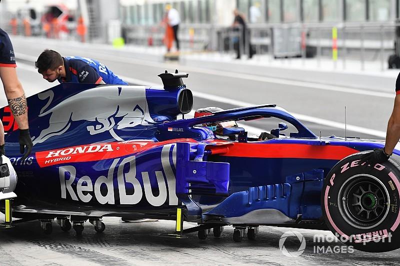 GALERI: Aksi Sean Gelael di tes F1 Abu Dhabi