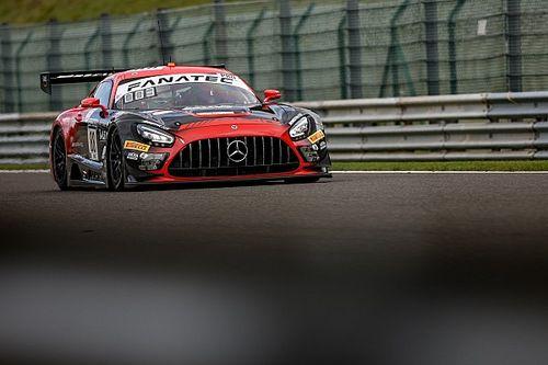 Marciello-Mercedes in Super Pole per la 24h di Spa