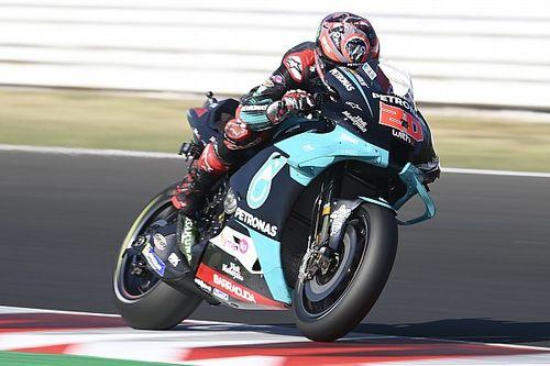 """Quartararo, """"sorunlu Yamaha'yı"""" sürmeye alışıyor"""
