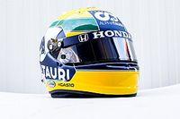Pierre Gasly rend hommage à Ayrton Senna avec un casque à Imola