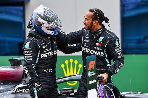 """Hamilton: """"Il n'est pas facile d'être mon équipier"""""""