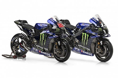 Yamaha launches 2021 M1 MotoGP challenger
