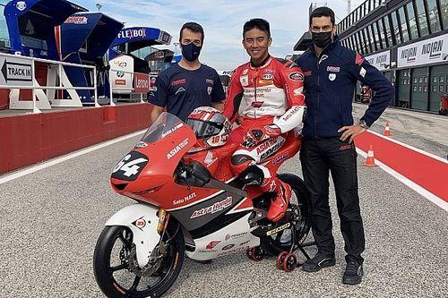 Debut Moto3, Mario Aji Pakai Nomor Balap Alm Ayah